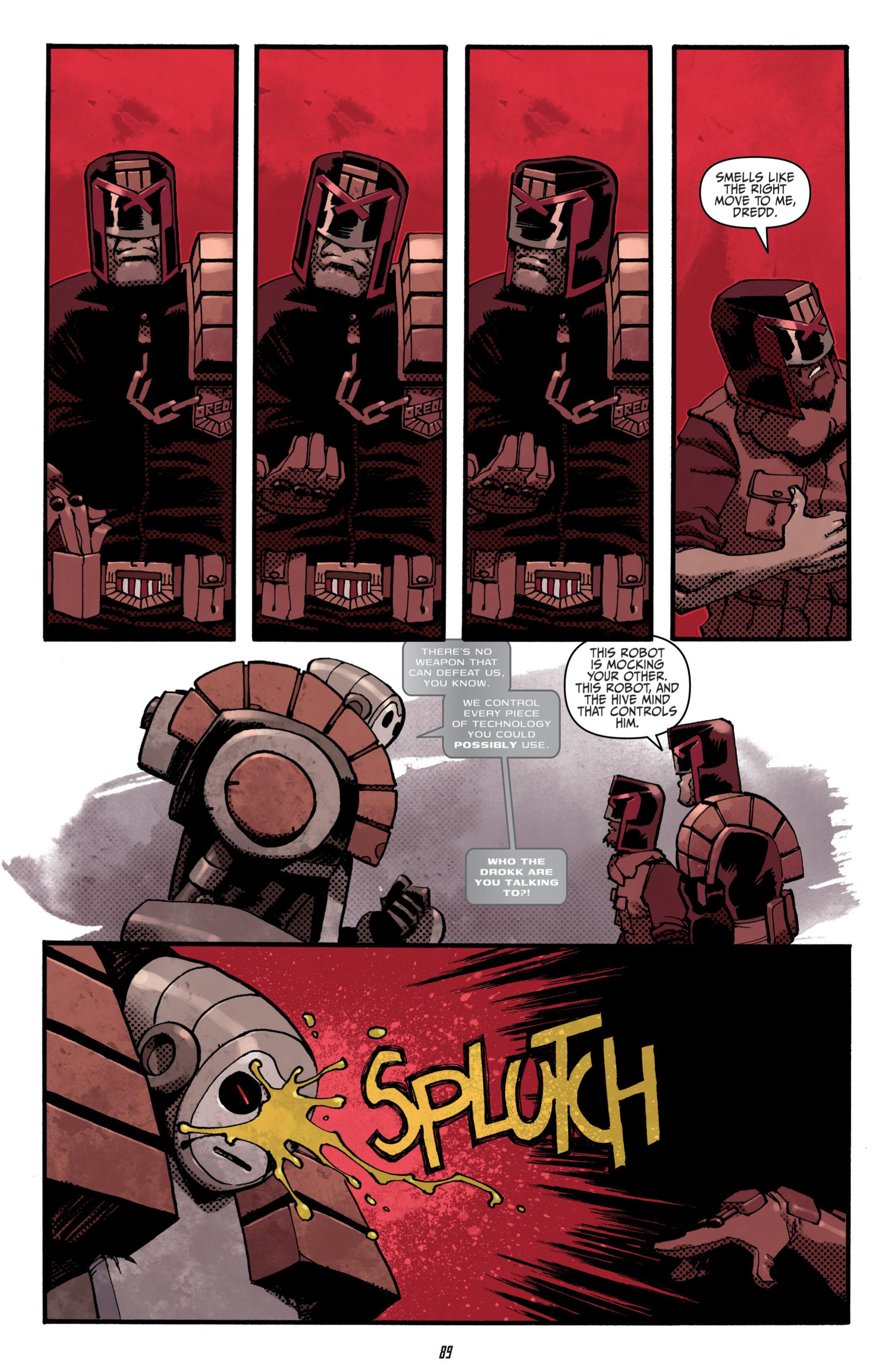 Read online Judge Dredd (2012) comic -  Issue # _TPB 3 - 89