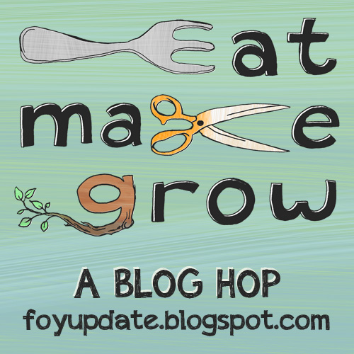cEat Make Grow Blog Hop - No Buy February www.FoyUpdate.blogspot.com