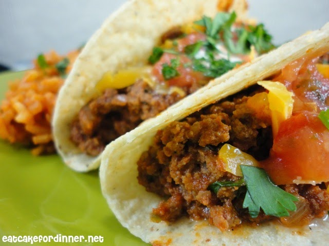 Let's start the new year right this time. How do we do that? Well . . . by making MY FAVORITE ground beef tacos. I used to think all you needed for tacos ...