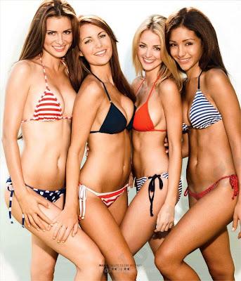 April Rose, Amanda Mertz, Kaitlynn Carter and Melanie Iglesias sexy bikini photoshoot for Maxim US, Salute to the military - pic 1