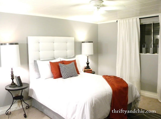 White Headboard