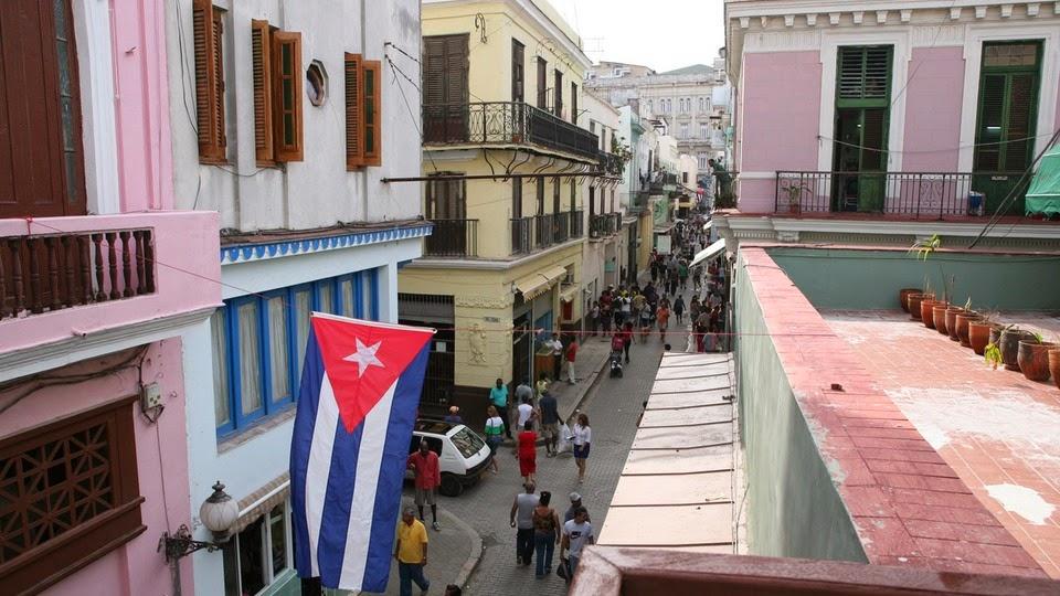Calle Obispo Habana