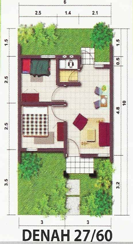 Denah Rumah Type 36 84 Galleries On Pinterest 17 Best Images About