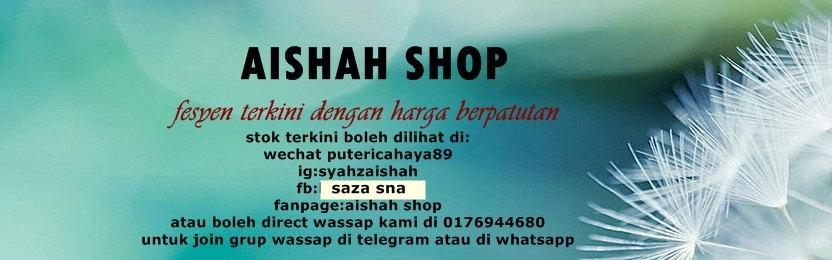 ~SyAhZaIsHaH shop~