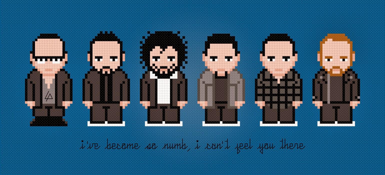 Linkin Park - Cross Stitch PDF Pattern Download