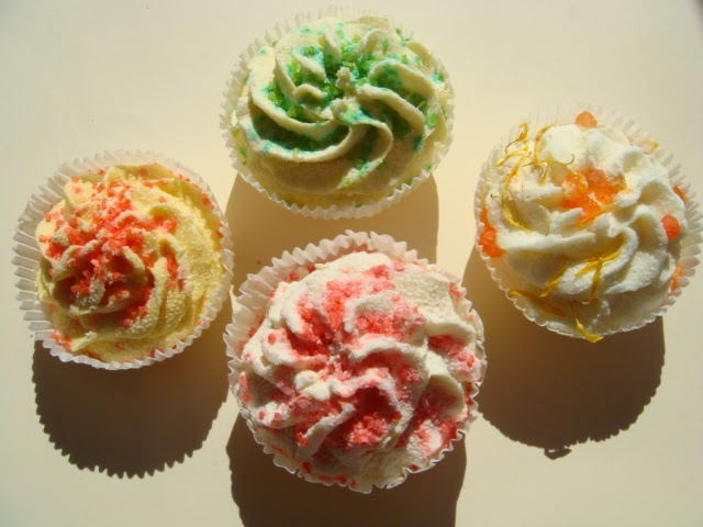 Bombas de Baño Cupcakes de SP Corazón