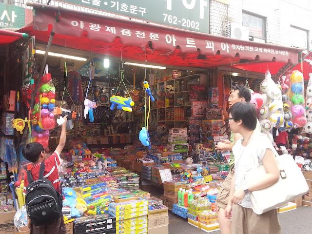 Wholesale market, Dongdaemun