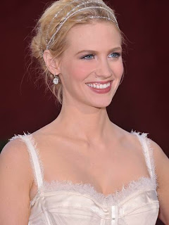 January Jones Hairstyles - Celebrity Hairstyle Ideas for Girls