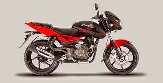 Bajaj Pulsar DTS-i 180 Cocktail Wine Red