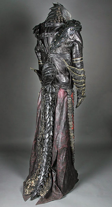 Farscape Scarran Captain Jenek costume back