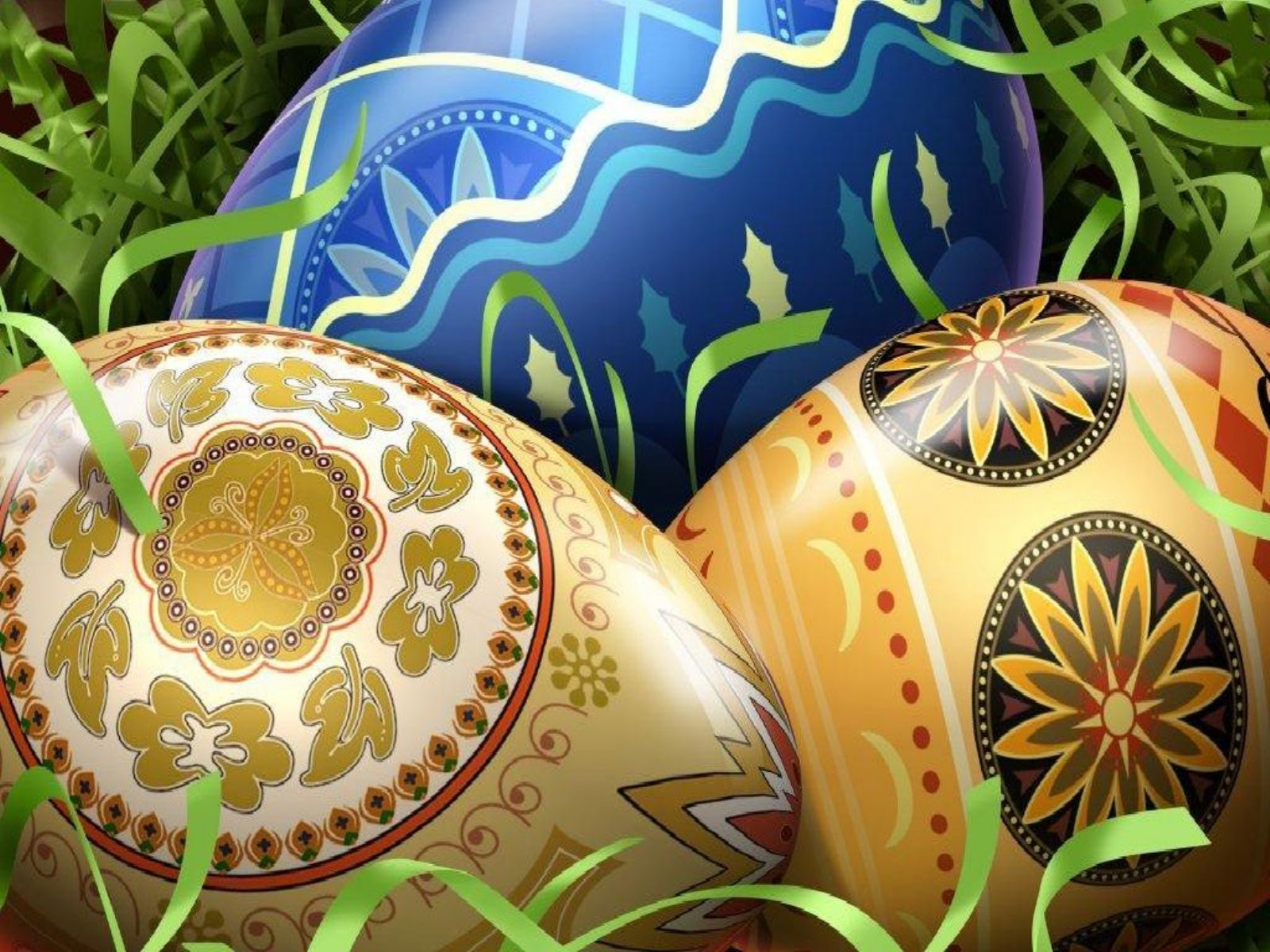 Easter Eggs Decorations | Colorful Easter Eggs Wallpapers | Cool ...