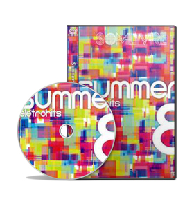 DVD Summer Eletrohits Vol. 8