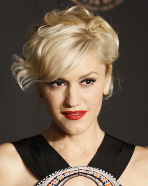 Gwen Stefani Elegant Movement hairstyle.