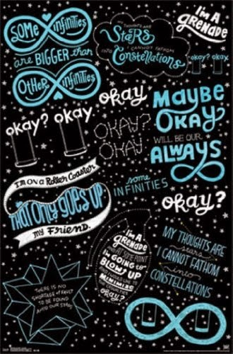Fault in our Stars - Romance Movie Poster