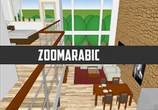 برنامج منظم الغرفة لانشاء وتهييء غرفة Room Arranger 3D