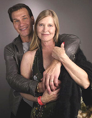 Hollywood: Patrick Swayze With His Wife In Pics And Wallpapers