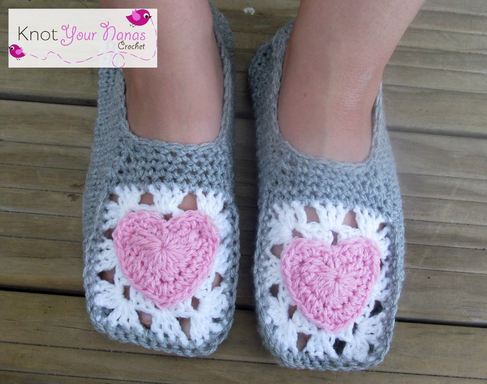 Slippers-crochet