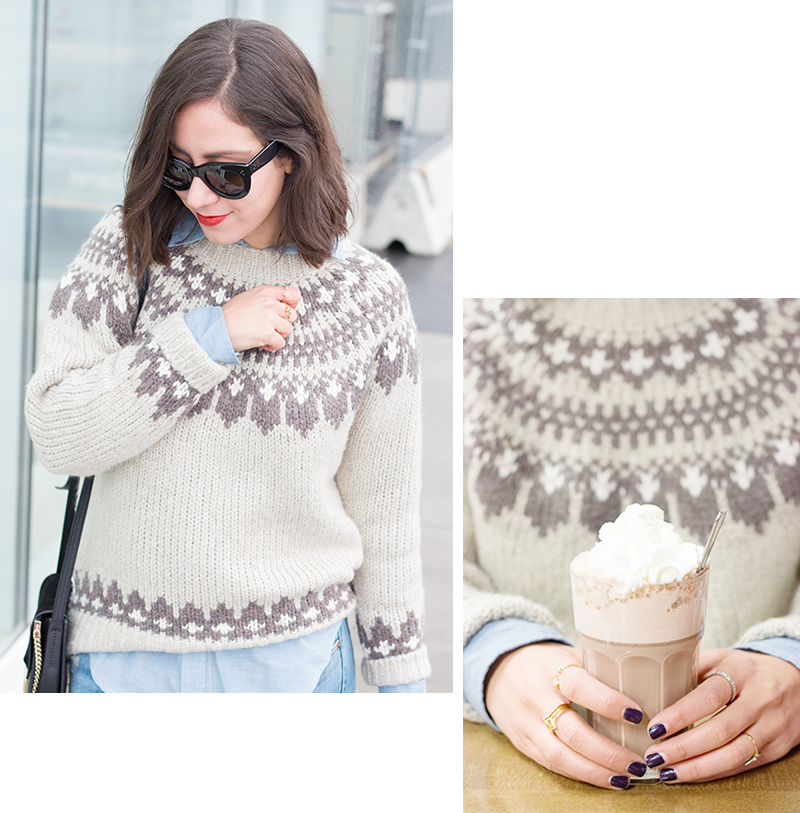 Denim & Supply fair isle sweater