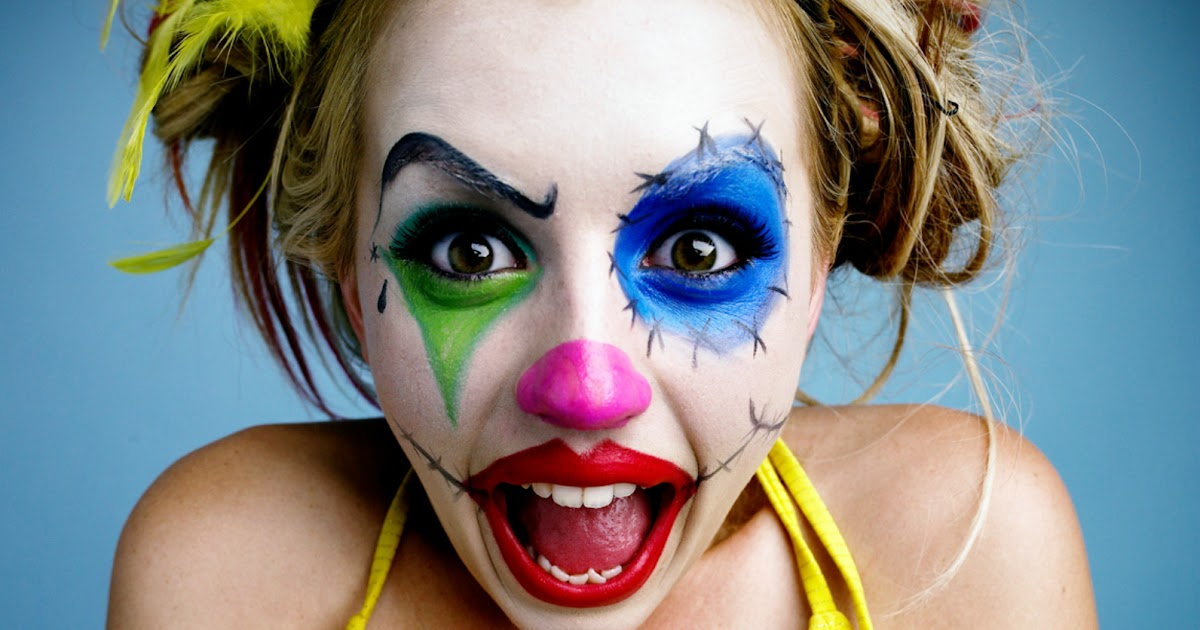 Central Wallpaper: Clown Girls HD Wallpapers