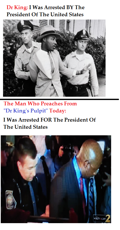 Dr King's Pulpit Then And Now