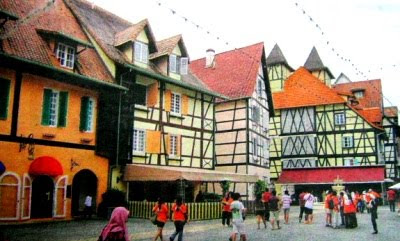 Bukit Tinggi Colmar Tropicale French Village