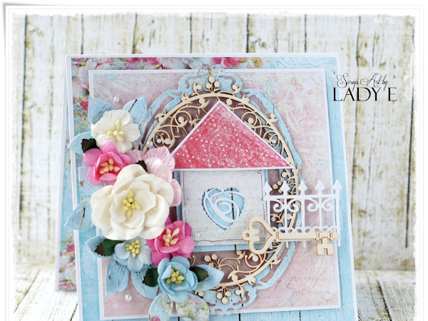 New Home Card - Wild Orchid crafts DT