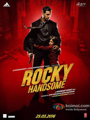 Rocky Handsome 2016 Hindi HDRip 480p 300mb