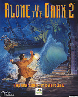 Alone in the Dark 2 pc game cover