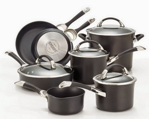Circulon Hard Anodized Nonstick 11-Piece Cookware Set