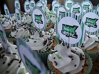 Cupcakes de Max Steel