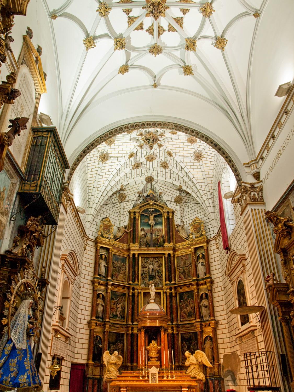 Altar Mayor Monasterio de San Clemente en Toledo