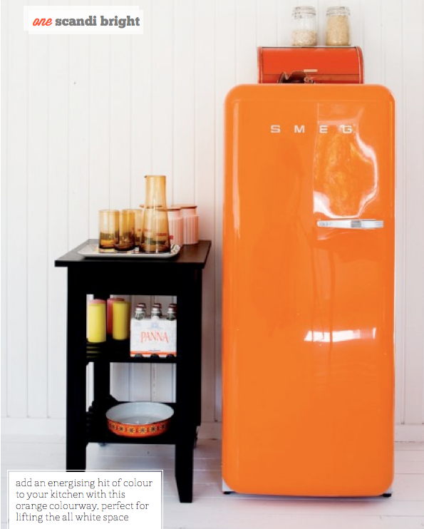 Three Ways To Incorporate A SMEG Fridge   Bright Bazaar by Will Taylor