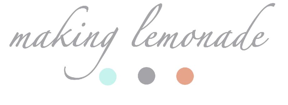 making lemonade {by megan}
