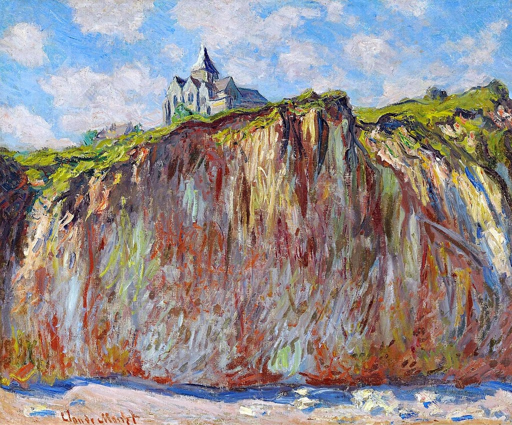 Église de Varengeville (Claude Monet, 1882)