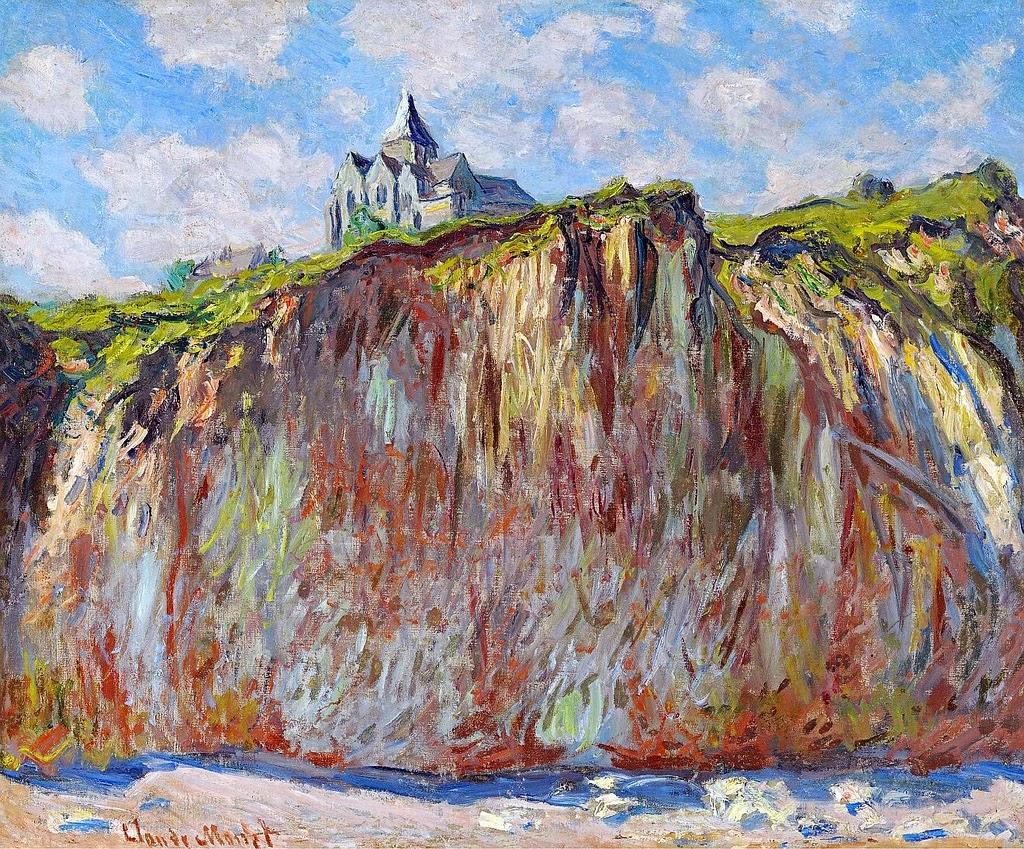 Église de Varengeville (Claude Monet, 1882)