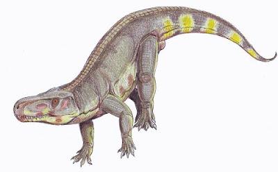reptiles prehistoricos en europa Batrachotomus