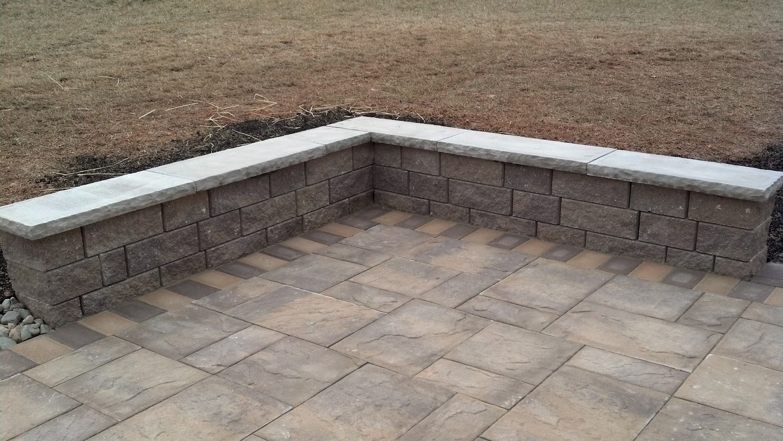 Life time pavers techo bloc semma wall w york cap for Techo bloc