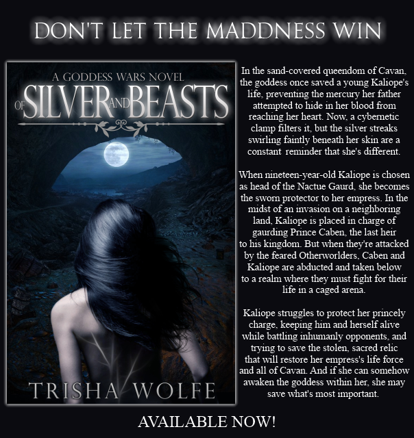 Book Blitz and Giveaway: Of Silver and Beasts by Trisha Wolfe