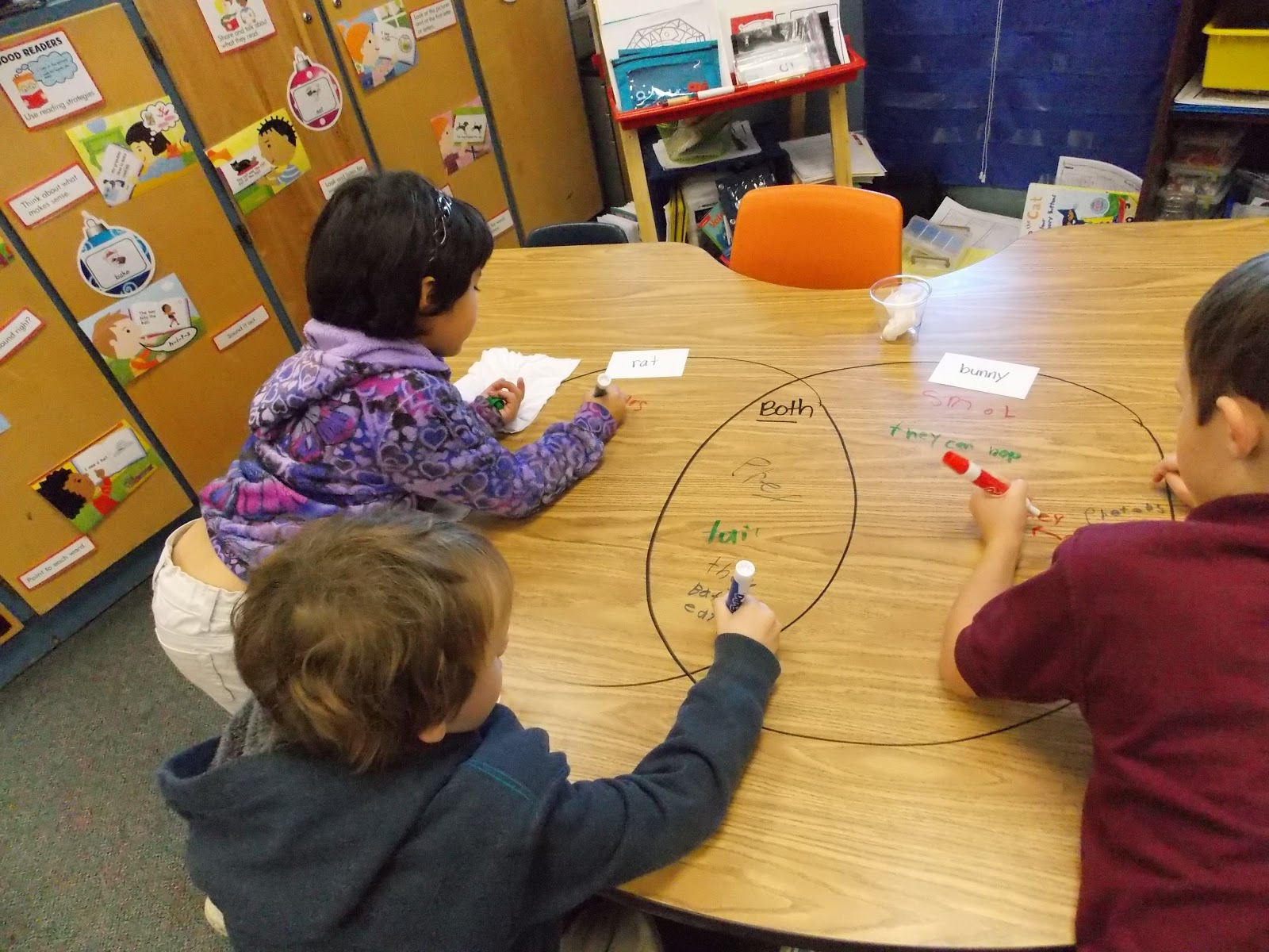 a day in first grade venn diagrams the fun way
