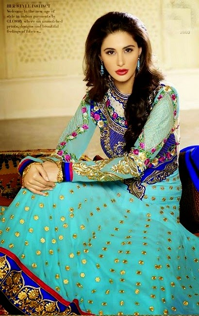 Nargis Fakhri Designer Dress Collection 2014