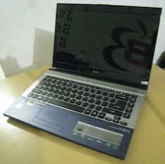 jual laptop second acer aspire 4830tg