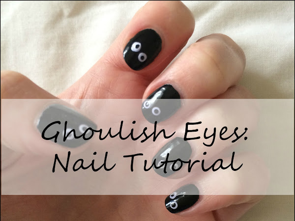 Halloween: Ghoulish Nail Tutorial