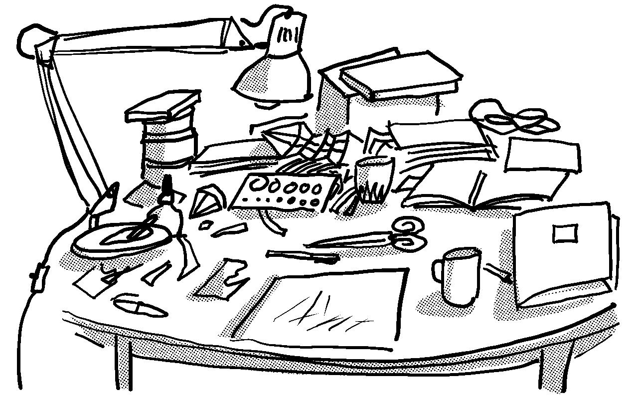 Aufräumen tageszeichnungen martin graf aufräumen