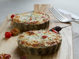 Quiche de espinafre light