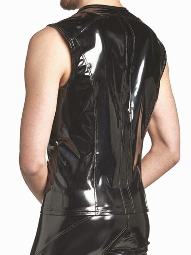 Benno von Stein Remas Vest Black Lacquer Gayrado