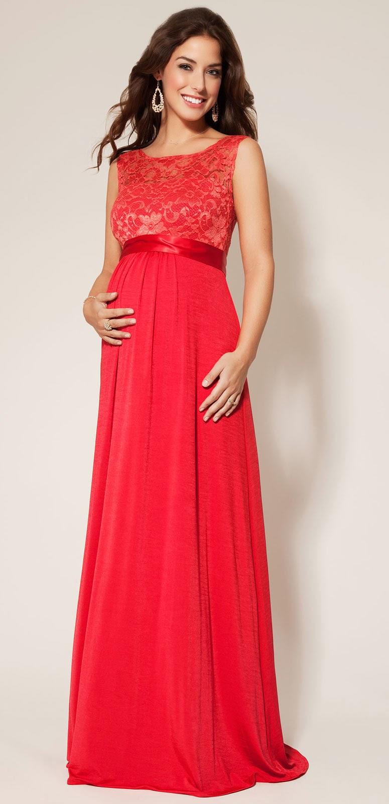 Designer Red Maternity Wedding Dresses Photos HD Ideas