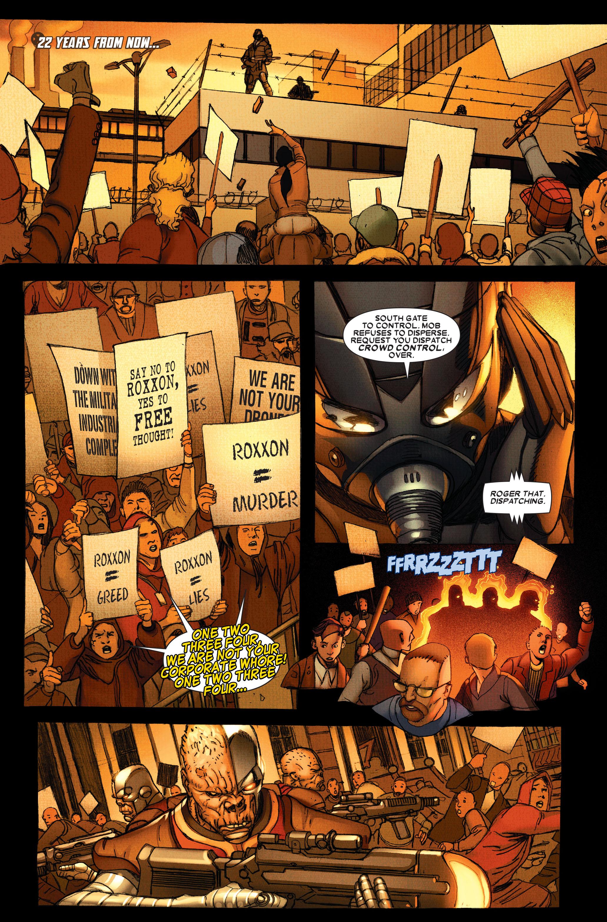 Wolverine: Weapon X #13 #4 - English 3