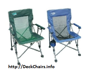 Deluxe Folding Deck Camp Chairs