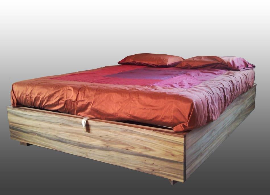 Letto contenitore in legno - Bed Box - IDEA ARREDO