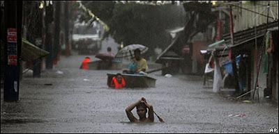 Tifón Bopha azota Filipinas, Diciembre 2012